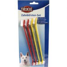 Зубная щетка д/ котов и маленьких собак 15см (набор 4шт)