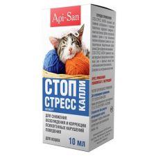 Стоп-Стресс капли для кошек 10 мл.