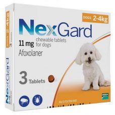 NexGard 2-4кг (S)
