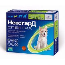 NexGard Spectra 7,5-15 кг (М)