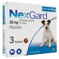 NexGard 4-10кг (M)
