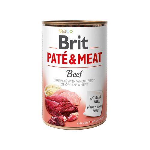 Brit Pate & Meat Dog k 400 g