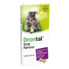 Drontal таблетка антигельминная для собак